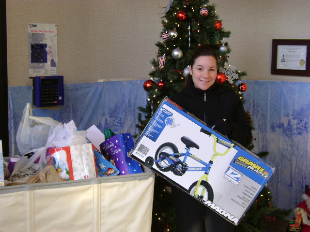 Myron Corp. Salvation Army Angel Gifts 2012