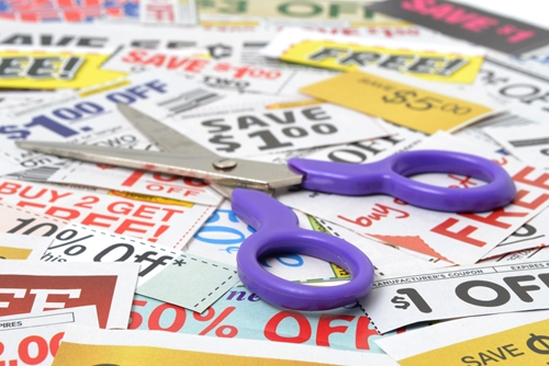 Cater to bargain hunters during National Coupon Month