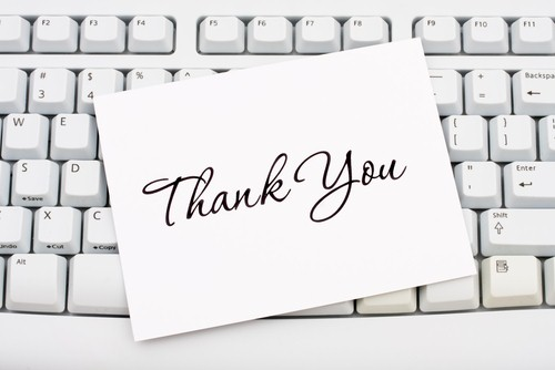 Celebrate National Thank You Month