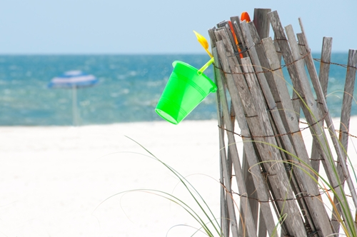 Don't forget beach-themed promotional items this summer