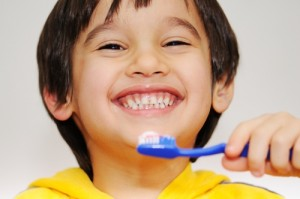 Encourage children's dental health