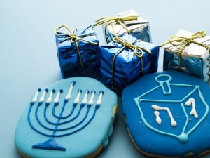 Entice customers to start celebrating with Hanukkah promotional items