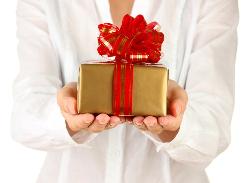 Giving personal gifts