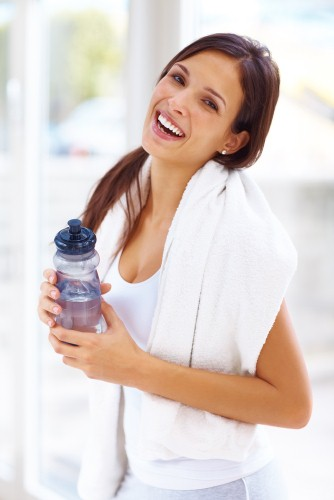 Promote proper hydration during cooler months
