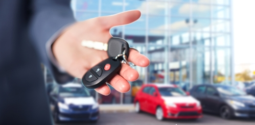Promotional items help car dealerships