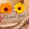 Remember to give thanks to customers and associates during November