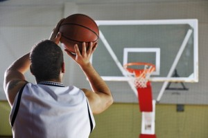 Scoring with basketball promotional items