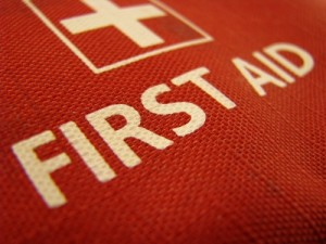Small first aid kits can help pediatricians