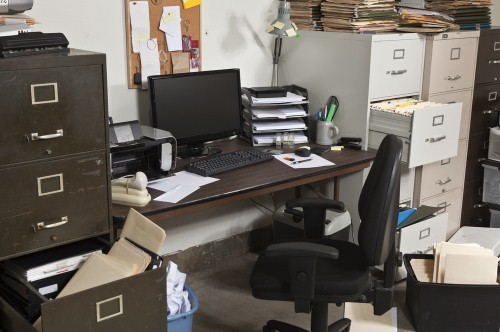 Staying organized at the office