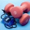 Target exercise nuts with gym-oriented promotional products