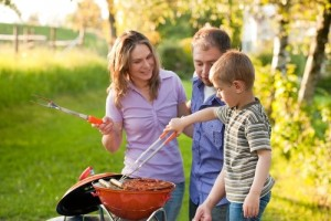 The summer grilling season is in full swing and people are spending more time outside with family around the barbecue.