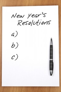 Tips for creating - and sticking - to New Year's resolutions