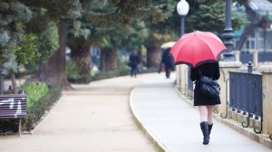 Umbrellas prevent sun damage