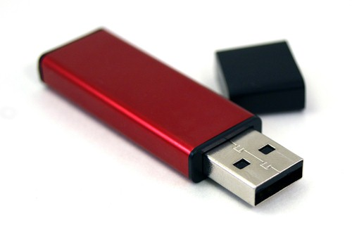 USB drives help people work on the move