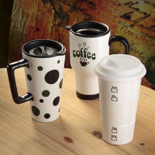Whether it's coffee or tea sipped at home, in the car or at work, promotional mugs are a great way for businesses to ensure that a customer starts the day with them every day.